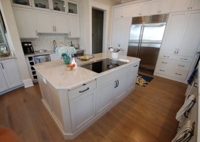 Custom KItchen Cabinet Cincinnati Ohio HH ct island