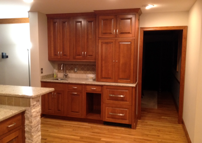 Custom KItchen Cabinet Cincinnati Ohio Juice bar