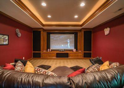 Basement media room II